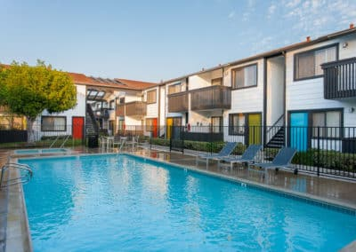Sparkling Pool at Eastside Apartment Homes